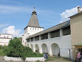 Свято-Пафнутьев Боровский монастырь. Гергиевская башня